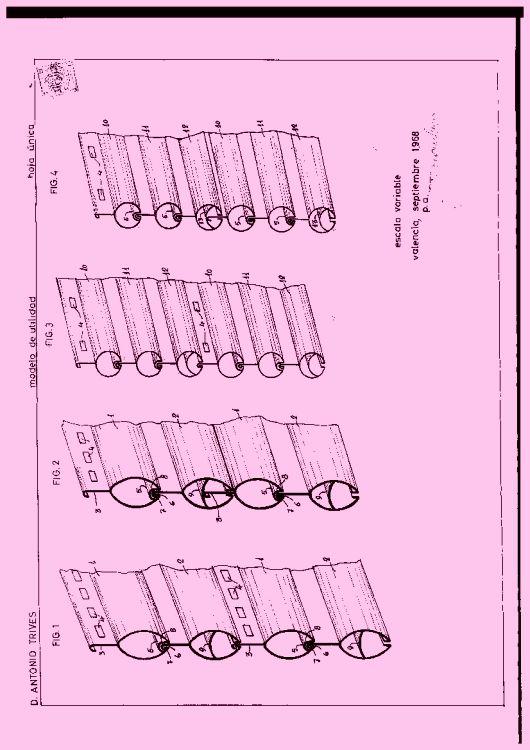 LAMA CON SUBDIVISIONES ARTICULADAS MULTIPLES.