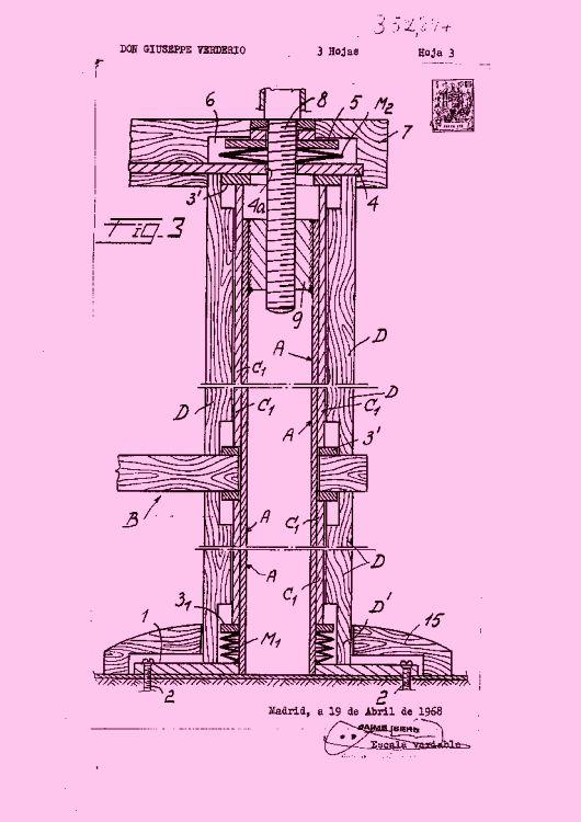 Verderio giuseppe 6 patentes modelos y o dise os - Estructura caracol ...