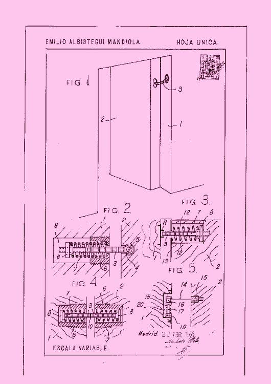 Perfeccionamientos en cierres automaticos para puertas - Cierres automaticos para puertas ...