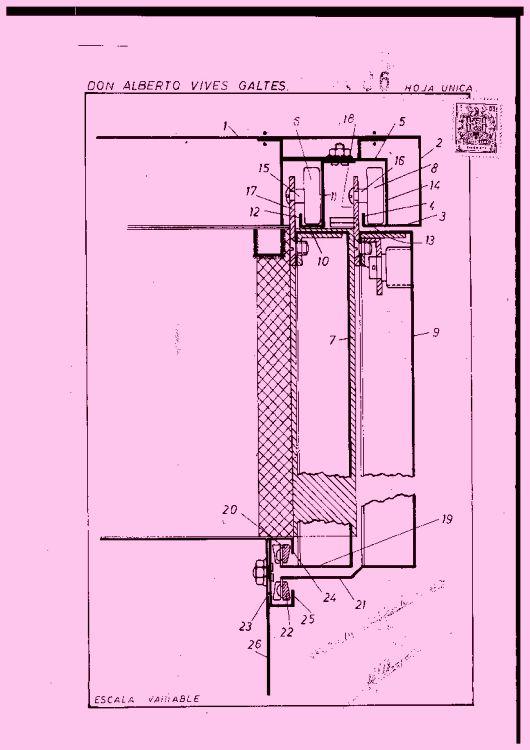 Puertas correderas perfeccionadas para armarios metalicos - Sistemas de puertas correderas para armarios ...