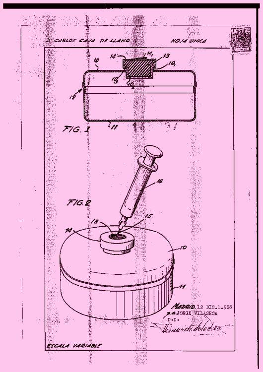 Recipiente hermetico perfeccionado for Recipiente hermetico