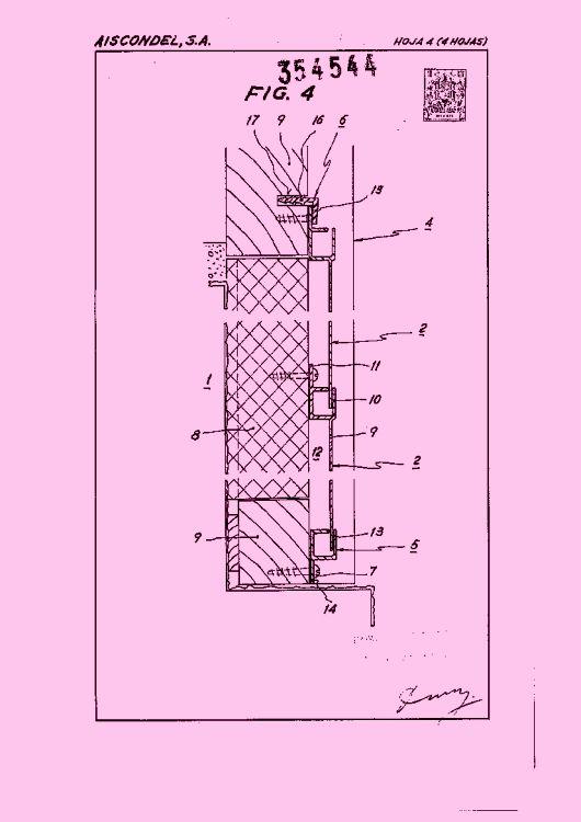 Aiscondel s a 348 patentes modelos y o dise os pag 5 - Recubrimiento de fachadas ...