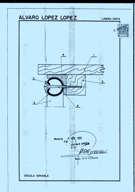 ACOPLAMIENTO SIMPLIFICADO ENTRE MATERIALES DE MUEBLES MIXTOS MADERA METAL.