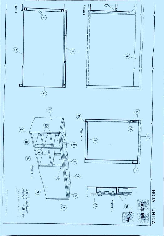 Un bloque armario adaptable a los flancos de mesas de oficina for Muebles de oficina kemen