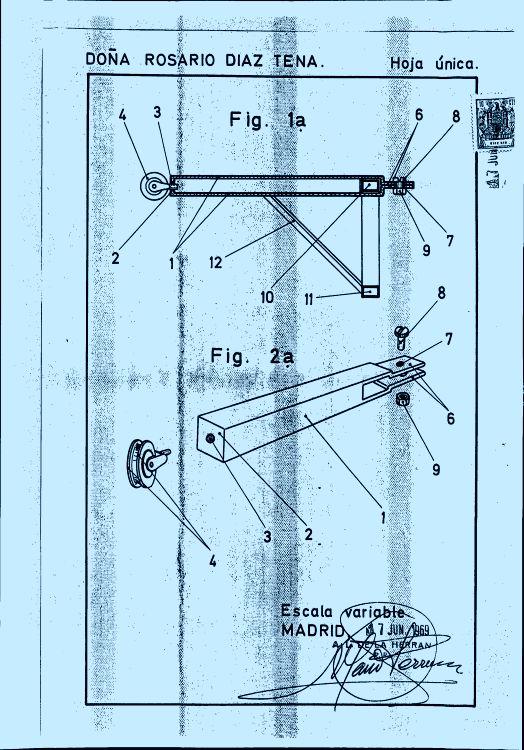 Brazo soporte para tendedero 16 de mayo de 1970 - Tendedero magor ...