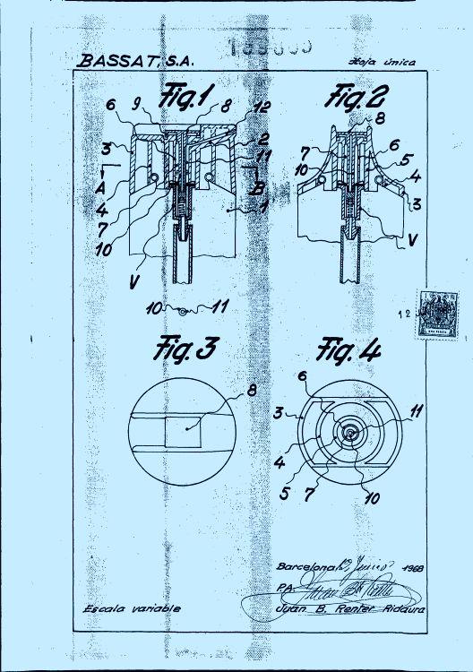 CABEZAL DIRECCIONAL PARA VALVULAS DE AEROSOLES.