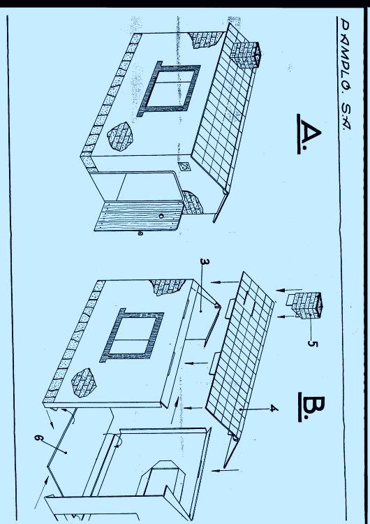 Como hacer una casa de madera desarmable planos de casas - Planos de casas para construir ...
