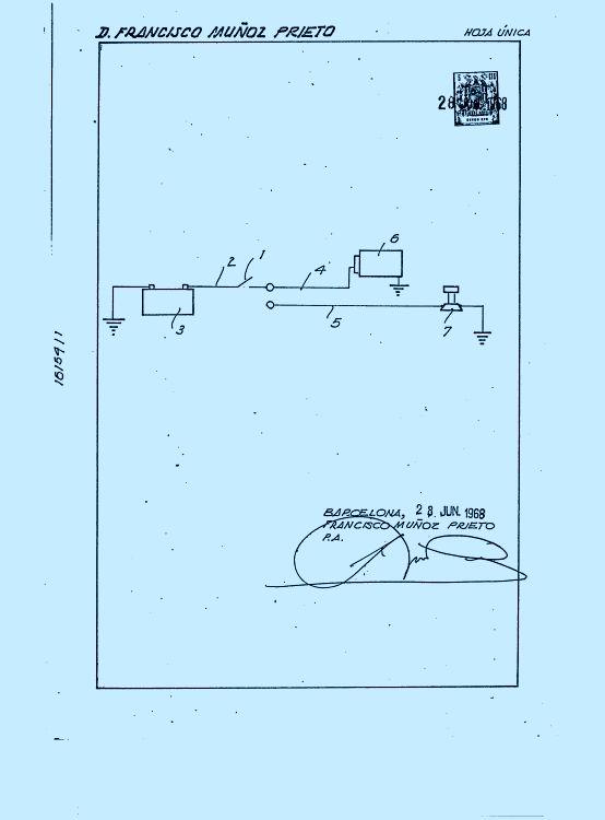 Circuito Vehiculos : Circuito de alarma antirobo para vehiculos marzo