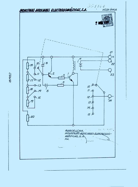 DISPOSITIVO AUTOMATICO PARA CONTROL DEL LIMPIAPARABRISAS DE AUTOMOVILES.