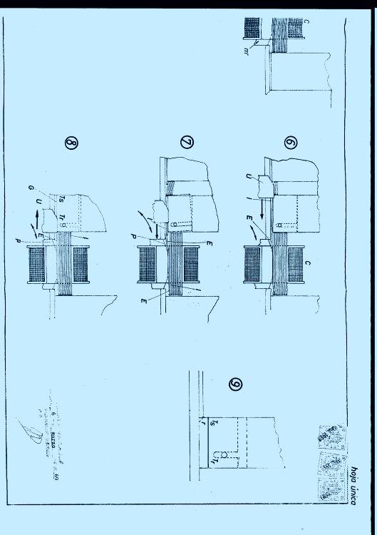 DISPOSITIVO INTRODUCTOR DE CHAPAS MAGNETICAS EN LA BOBINA DE LOS TRANSFORMADORES.