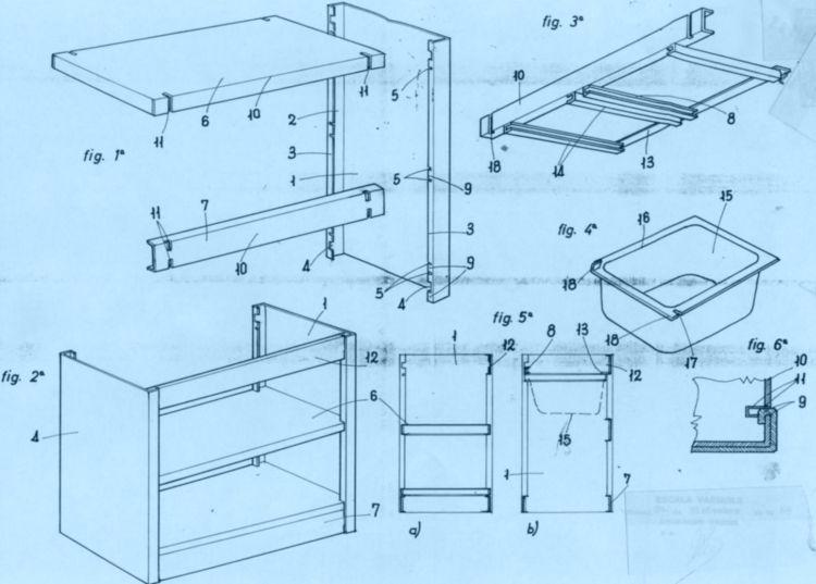 Estructura de muebles bajos para cocinas for Muebles bajos para cocina