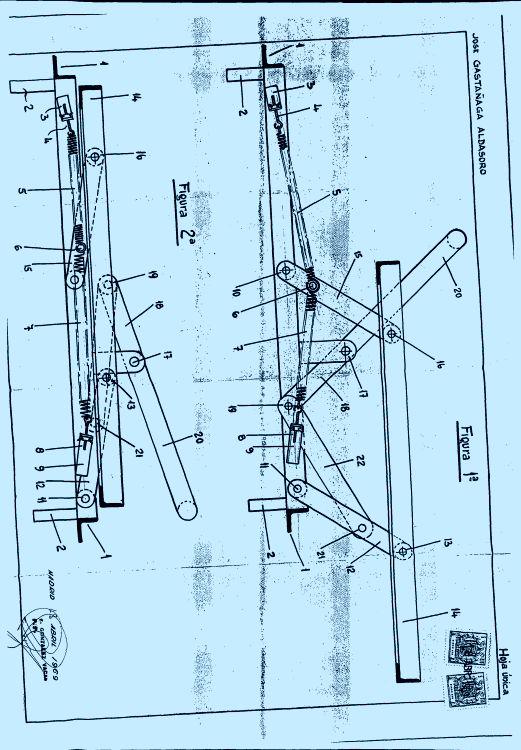 Estructura de sofa cama 1 de abril de 1970 for Estructura sofa cama