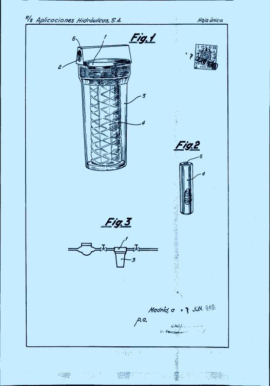 filtro para agua potable 16 de mayo de 1970