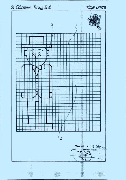 Lamina Perfeccionada Para Cuadernos De Dibujo Patentadoscom