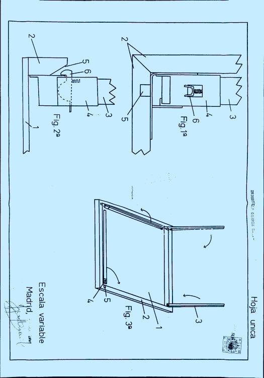Industrias garriz s a 15 patentes modelos y o dise os - Patas plegables para tableros ...