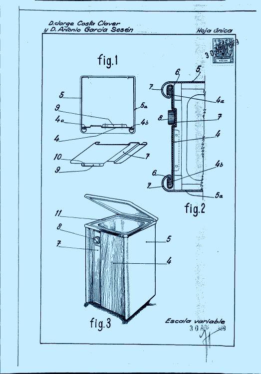 Un mueble para lavadora 1 de abril de 1970 for Mueble lavadora
