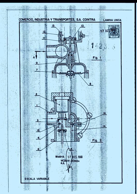 Valvula de gas perfeccionada para calentadores de agua de - Tipos de calentadores de gas ...