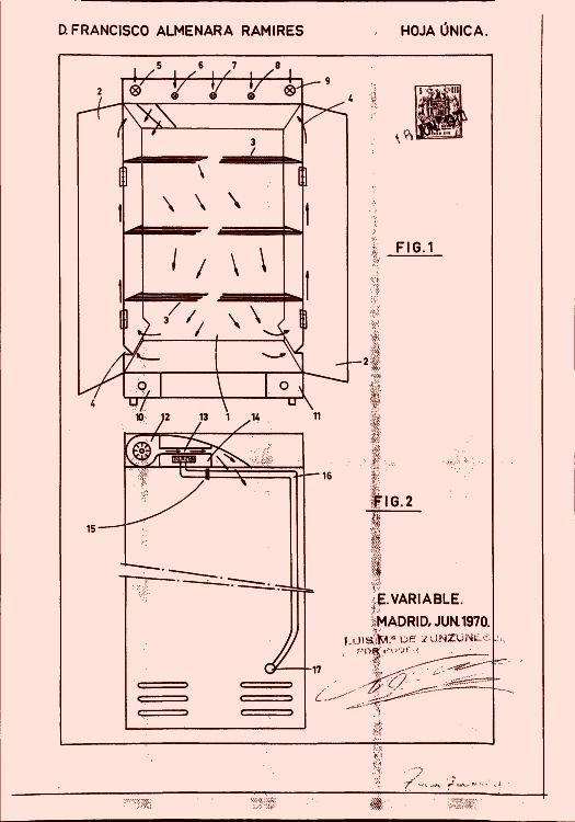 Armario secador de ropa 3 1 de septiembre de 1971 - Secador de ropa ...