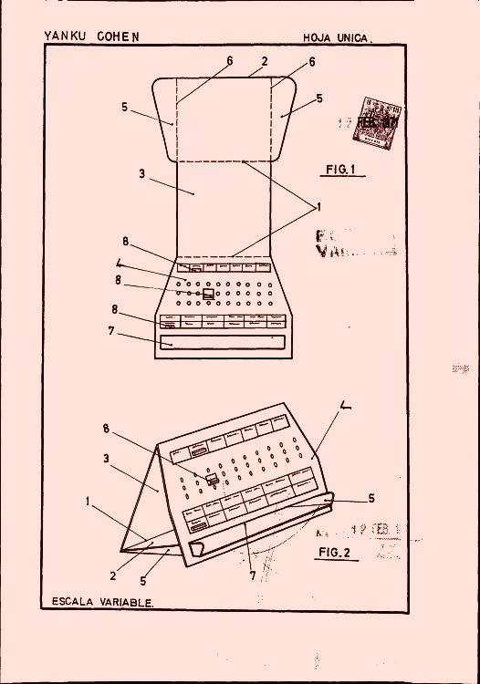 Calendario de sobremesa 17 1 de septiembre de 1971 - Plantilla calendario de mesa ...