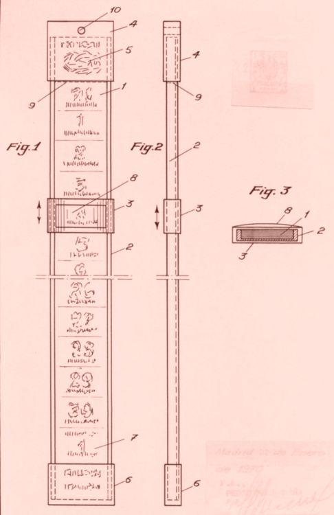 Calendario mensual perfeccionado for Porta tubos fluorescentes