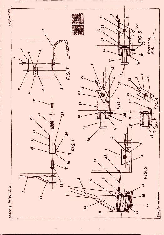 Extractor De Baño Temporizado:MECANISMO DE CIERRE (6) (1 de Septiembre de 1971)