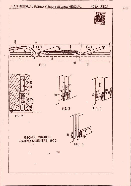 1 290 patentes de septiembre de 1971 pag 22 - Mecanismos de puertas correderas ...