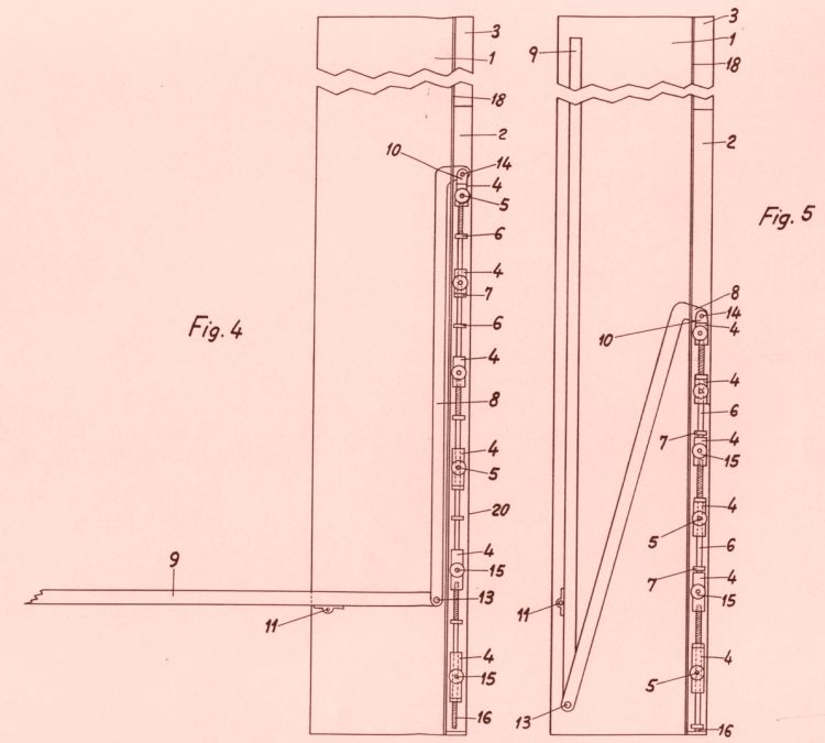 Mecanismo perfeccionado de amortiguacion y contrapeso para for Mecanismo cama abatible