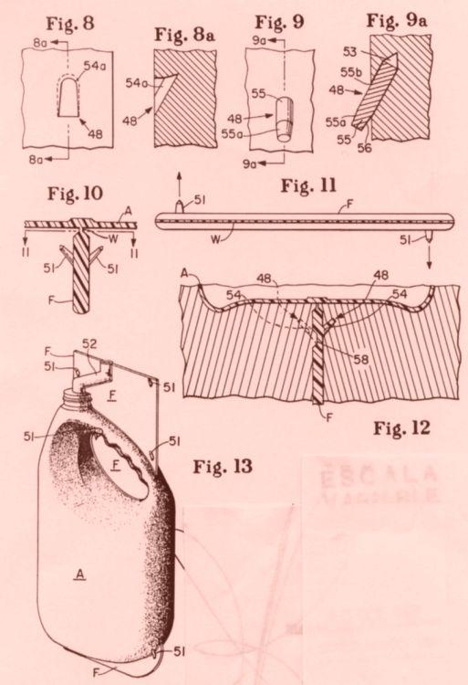 MOLDE PORTATIL PARA FORMAR ARTICULOS DE SUSTANCIA PLASTICA.