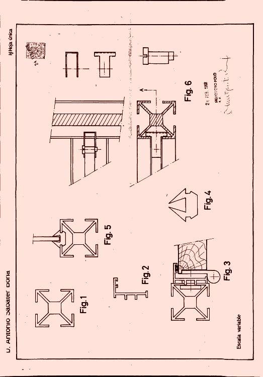 Perfiles De Aluminio Para Formacion De Mamparas Y Tabiques