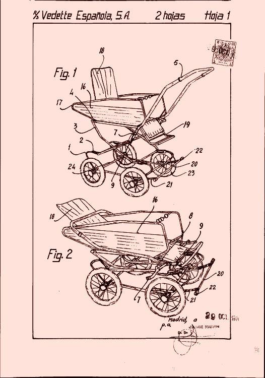 VEDETTE ESPAÑOLA, S.A. 131 patentes, modelos y/o diseños. (pag. 3)