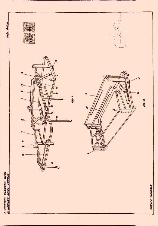 ARMAZON ARTICULADO PARA SOFAS-CAMA. : Patentados.com