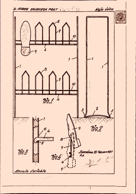 Salgueda prat jorge 12 patentes modelos y o dise os for Colgadores para botas
