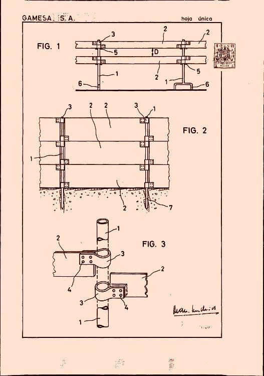 Disposicion articulada para vallas y cerramientos - Vallas y cerramientos ...