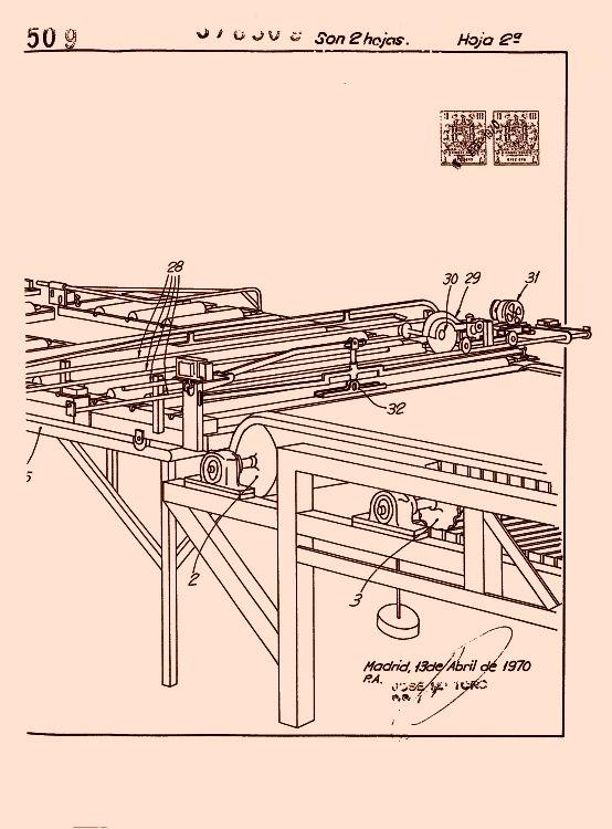 Maquina para la fabricacion en continuo de planchas de yeso - Planchas de yeso ...