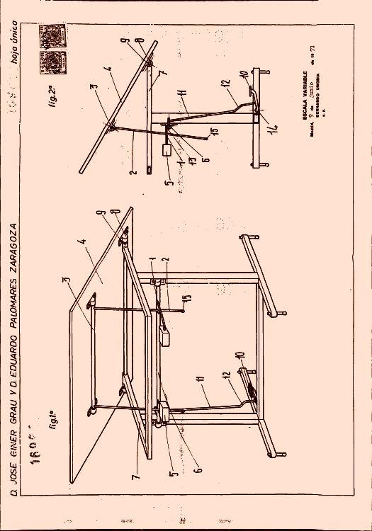 Mesa de dibujo perfeccionada 14 - Mesa de dibujo portatil ...