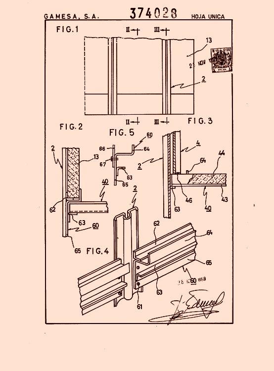 Gamesa s a 37 patentes modelos y o dise os - Zocalos para paredes ...