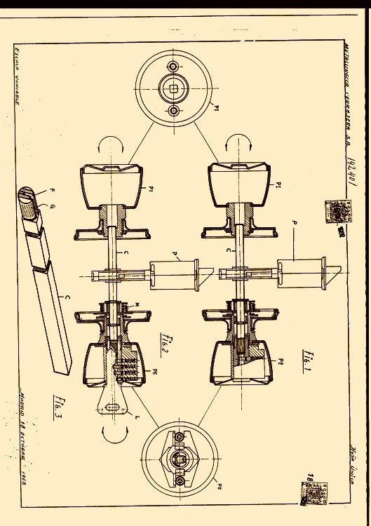 Metalurgica cerrajera s a 21 patentes modelos y o dise os - Pomos con cerradura ...