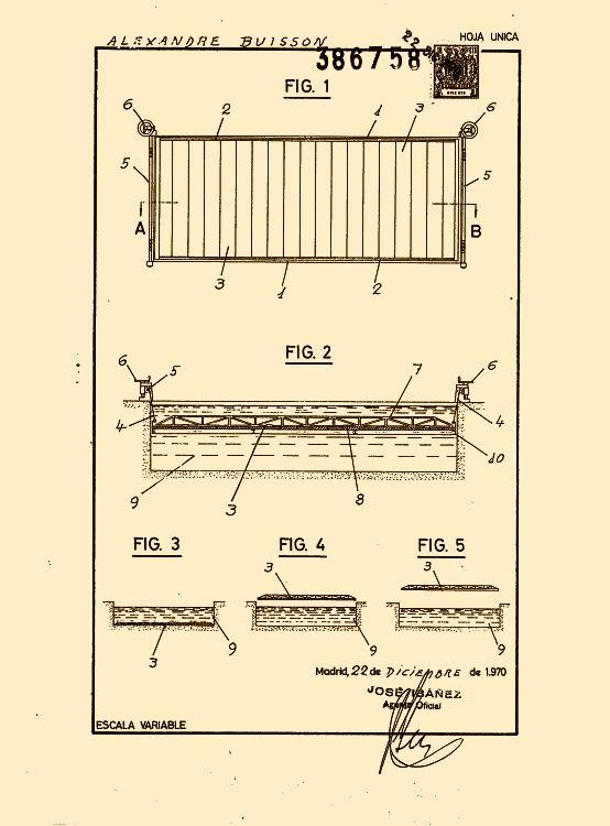 213 patentes de septiembre de 1973 pag 7 for Piscinas en altura