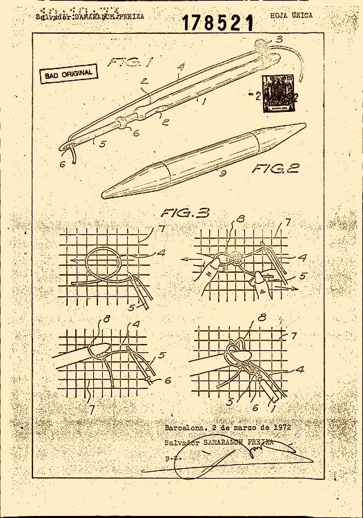 Samaranch freixa salvador 26 patentes modelos y o dise os for Clasificacion de alfombras