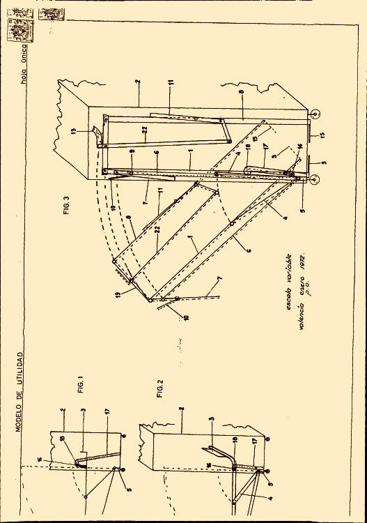 Estructura perfeccionada para camas plegables - Estructura dosel cama ...