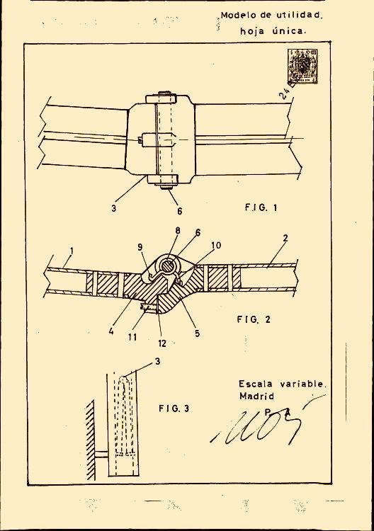 mecanismo de brazos soporte invisibles para el tendido de