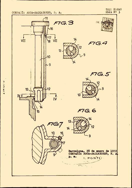 Mecanismo de descarga para cisternas de inodoros 4 - Mecanismo de cisterna ...
