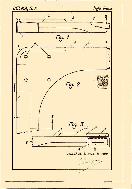 CELMA, S.A. 50 patentes, modelos y/o diseños. : Patentados.com