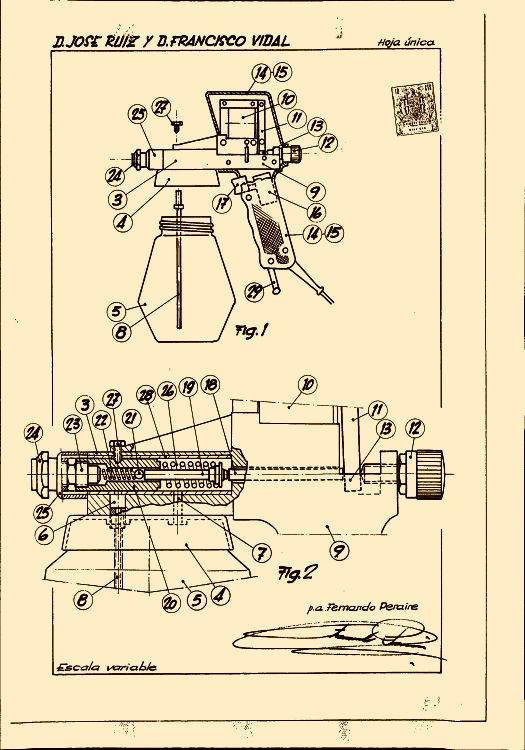 Una pistola electrica para pintar - Pistolas electricas para pintar ...