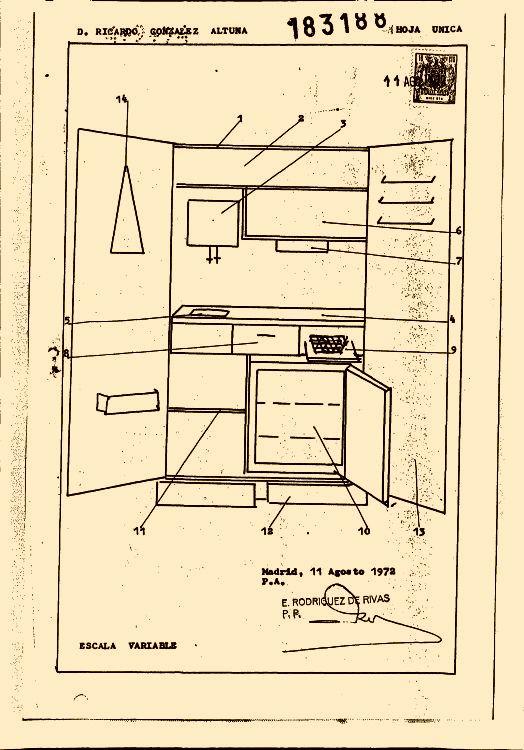 Armario cocina 16 de abril de 1974 - Cocina dentro de un armario ...