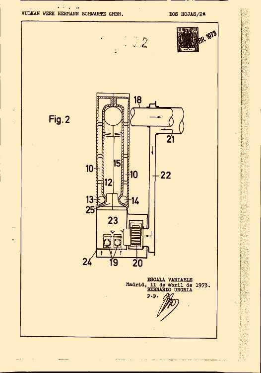 Caldera con calefaccion de gas 16 de noviembre de 1974 - Caldera de calefaccion ...
