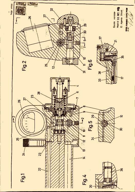 Talleres myl s a 7 patentes modelos y o dise os for Accionamiento neumatico