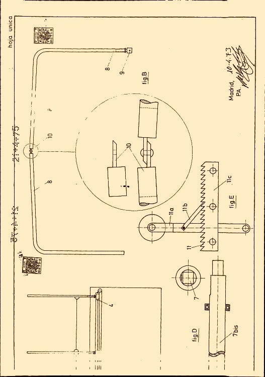 Mecanismo articulado aplicable a toldos de vehiculos para - Mecanismo para toldos ...