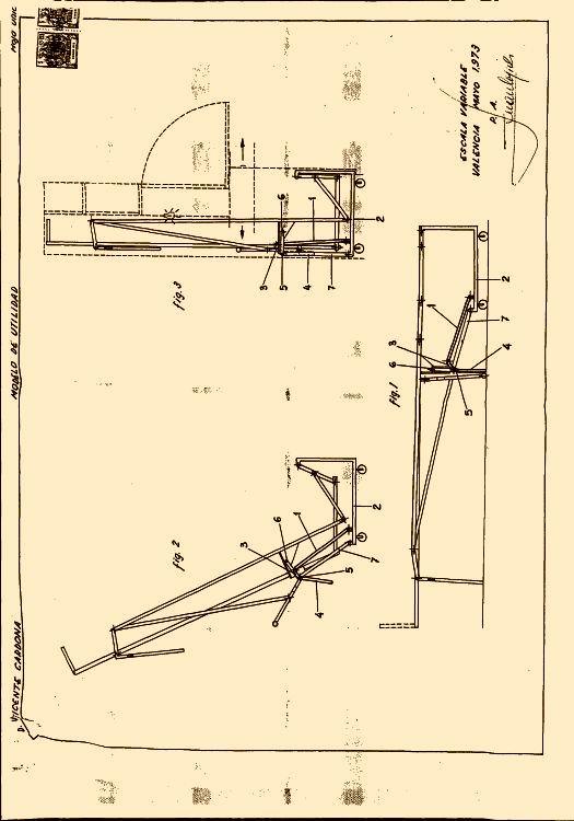 Mecanismo articulado de apoyo supletorio de camas plegables - Mecanismo para camas abatibles ...