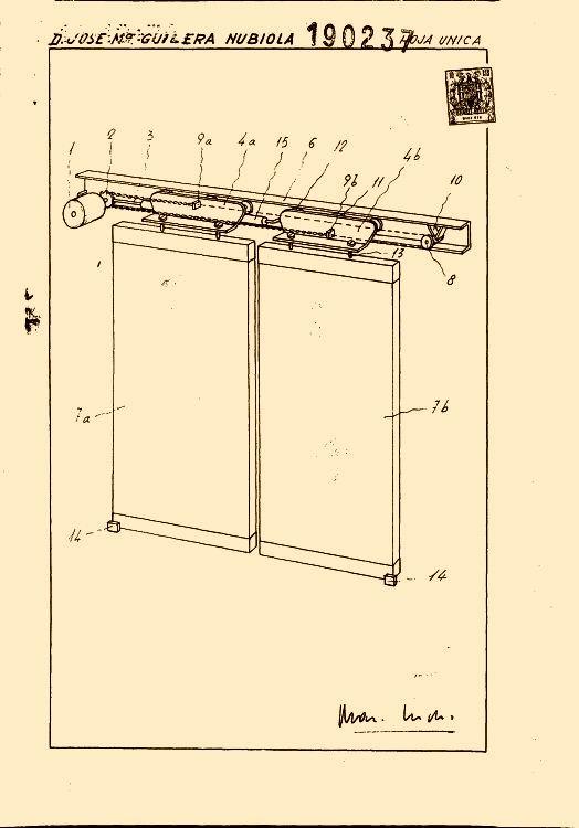 mecanismo para la maniobra automatica de puertas correderas